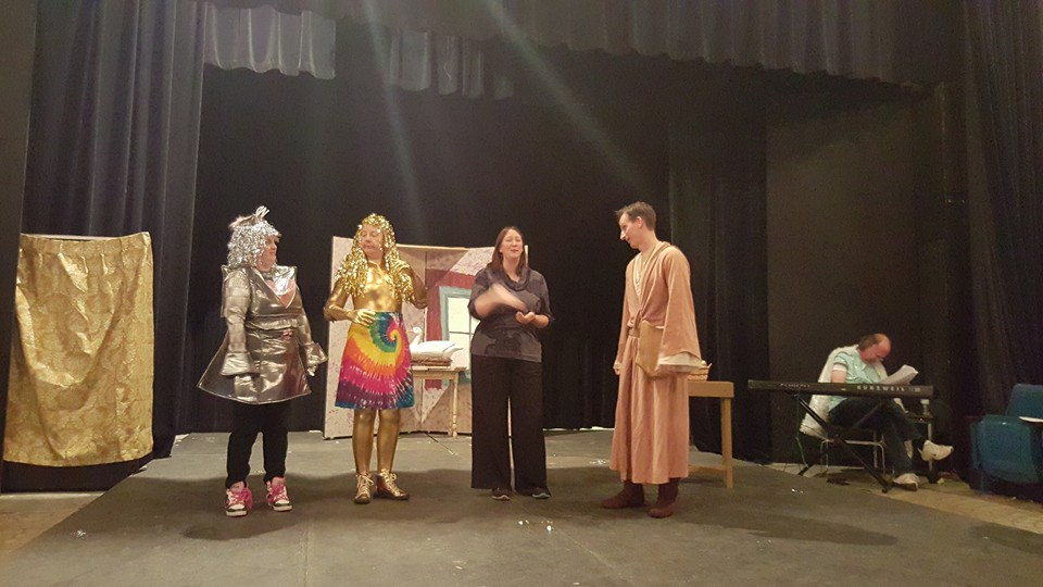 May the farce be with you review waterworks players for Farcical pantomime