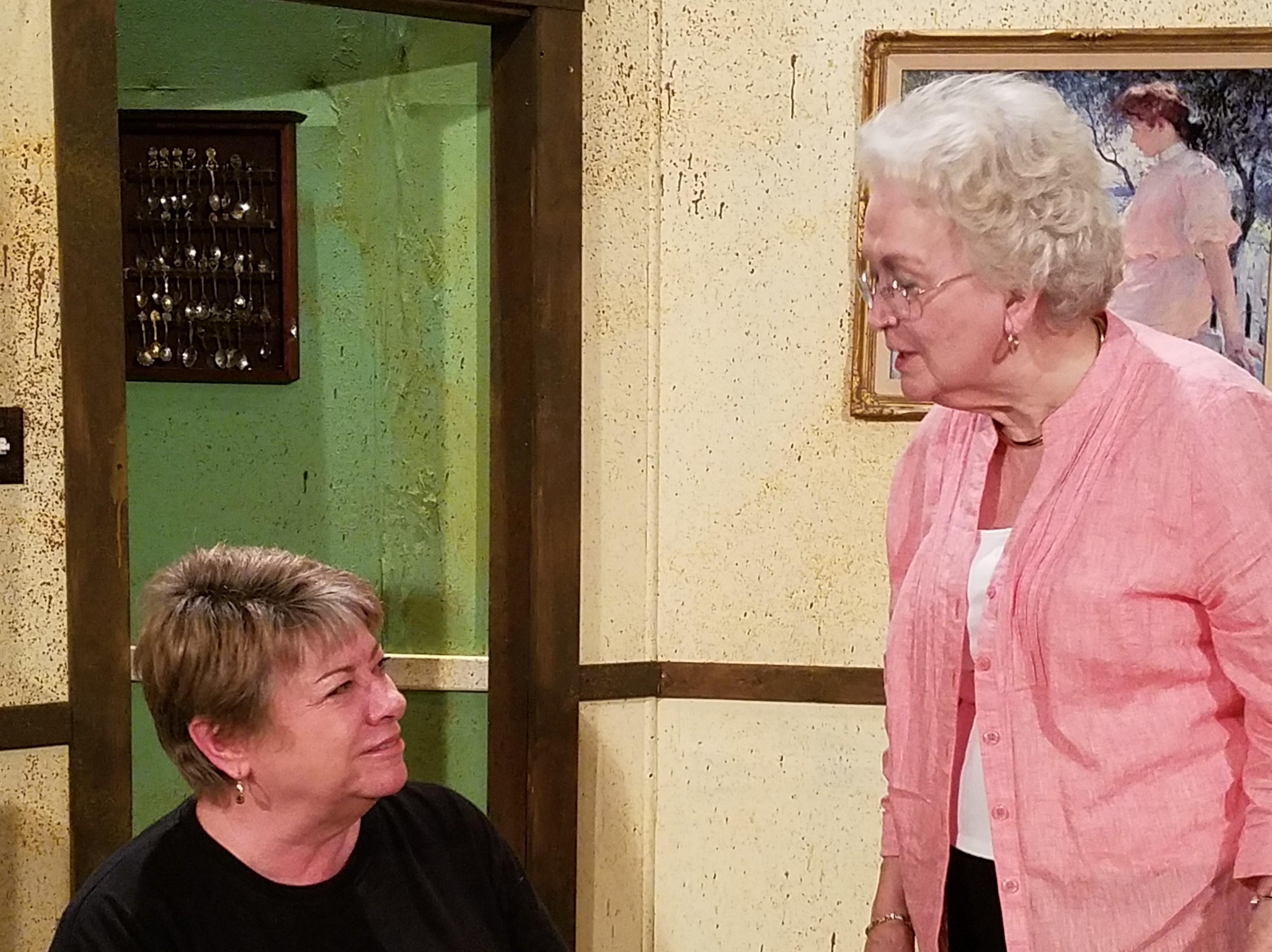Martha Womack and Daphne Mason return to the Waterworks stage